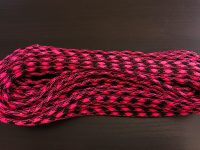 pink and black paracord