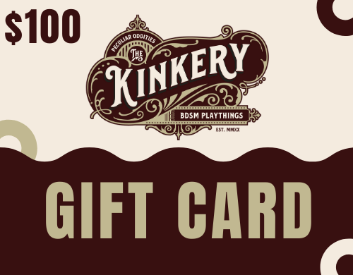 image of kinkery gift card for $100