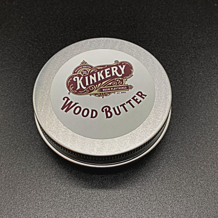 2 ounce tin of wood butter